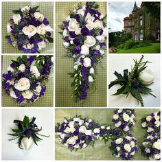 Bridal flowers for wedding in Edinburgh Zoo