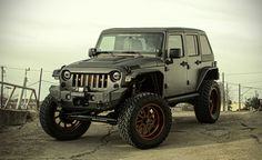 2014 Starwood Motors Jeep Wrangler Unlimited NightHawk | Cool Material