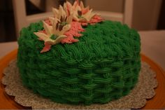 Another view of my key lime cake!  #wiltoncontest