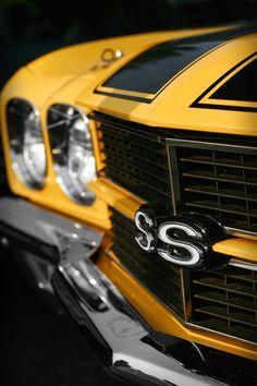 1970 Chevelle SS396 SS 396 Yellow