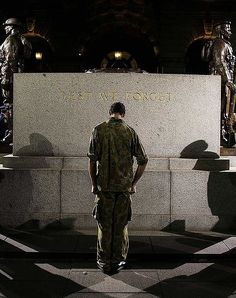 LEST WE FORGET... Anzac Day