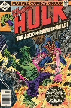 Incredible Hulk (1962-1999 1st Series) Whitman Variants 214