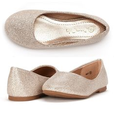 Amazon.com: Dream Pairs MUY Mary Jane Casual Slip On Ballerina Flat (Toddler/ Little Girl) New: Shoes