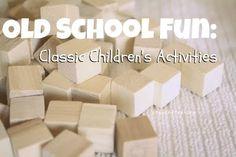 flashback fun: classic childrens activities #crayonfreckles #preschool kid-blogger-network-activities-crafts
