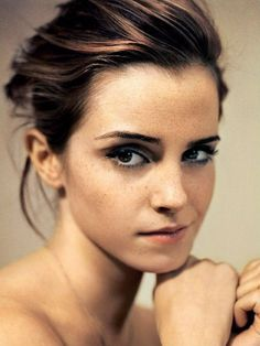 Emma Watson as exactly how I pictured Lucy Abernathy in my mind