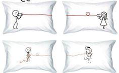 Fronhas criativas para mudar o visual da sua cama: que tal variar na decoração do quarto e apostar nas fronhas criativas? Ou até mesmo pode usar almofadas que elas darão o mesmo efeito e também mudarão o visual da sua cama!