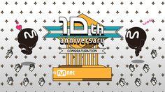 Promotion Clip - Celebrating 10years anniversary of Mnet Japan  Design :  Eunji Lee , Jisun Kim Sound : Hangyul Park Directing : Simyoung No, ChungOk Park