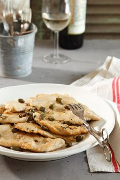 Chicken Picatta - really good; don't need to use the butter or any extra olive oil.