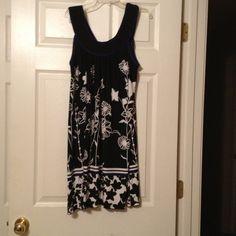 Amy Byer dress Never been worn! Very cute! Has blue trim around neckline. Amy byer Dresses