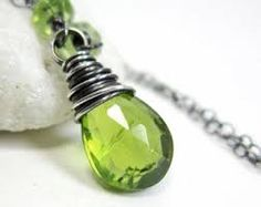 peridot silver jewellery images - Google Search
