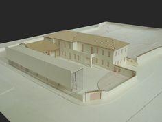 Villa Sartirana a Giussano - 1:200 - Tesi di Claudia Gatto e Laura Francesca Maiocchi