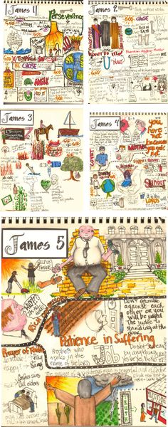 Not Just Any Bee - Doodle Art: James Do-Over 2013 vs 2011
