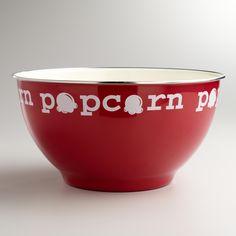 Popcorn Serving Bowl at Cost Plus World Market >> #WorldMarket Outdoor Movie Night