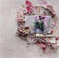 Flowers **Scrapbook Diaries** and Maja Design - Scrapbook.com
