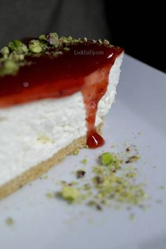 tsizkeik fraoula Greek Cooking, Party Desserts, Sweet Recipes, Panna Cotta, Sweets, Diet, Ethnic Recipes, Food, Tarts
