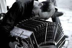 bandoneon player, st. telmo, buenos aires. photo by monica shulman