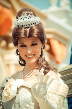Belle at Disney World! She is GORGEOUS