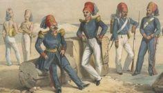 Tunisian infantry 19th century
