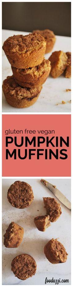 Gluten Free Vegan Pumpkin Muffins: healthy enough for breakfast, yet ...