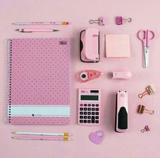 Back to School 💞💞 Stationary Store, Stationary School, School Stationery, Kawaii Stationery, School Kit, School Hacks, Cool School Supplies, School Suplies, School Accessories