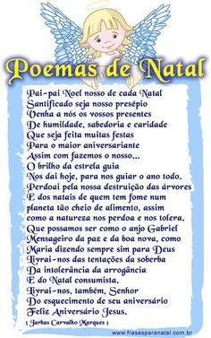 poemas de natal para facebook, poesias natalinas