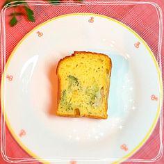 朝ごはん♡ - 68件のもぐもぐ - ベビーホタテとブロッコリーとかぼちゃのケークサレ by yuffy1109