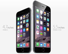 Apple has finally launched the 4.7-inch iPhone 6 and the 5.5-inch iPhone 6 Plus. Here are the differences between them.