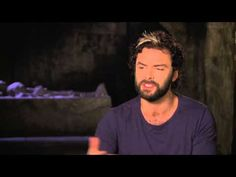 "The Mortal Instruments: City of Bones: Aidan Turner ""Luke"" On Set Interview - short video"