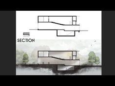 Tuto [ENG]: Section Photoshop - Photoshop Architecture Plan Concept Architecture, Sketchbook Architecture, Collage Architecture, Plans Architecture, Architecture Background, Architecture Wallpaper, Architecture Graphics, Architecture Portfolio, Architecture Details