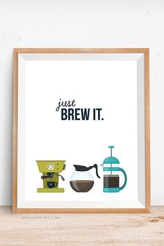 FREE printable coffee wall art