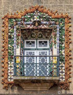 Ventana del palacio de los condes de sacavém, Lisboa, Portugal - Daniel Jorge