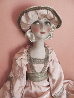 Antique French Boudoir Doll