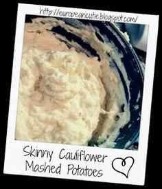 ...   Truffle oil, Cauliflower mashed potatoes and Swedish meatball