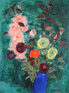 Jan Sluijters Floral Still Life 1930