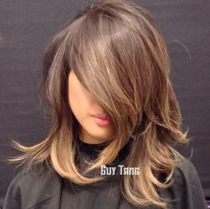 Pretty cut for shorter hair and great colour