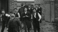 Workforce at Steel & Garland Priory Foundry, Worksop (1900)