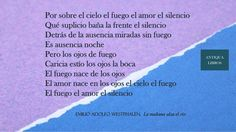 Emilio Adolfo Westphalen, 'La mañana alza el río'. Literatura Peruana