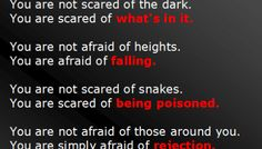 The Reality of Fear Infographic