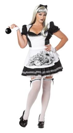 4b4caf4204a California Costumes Plus-Size Dark Alice Dress