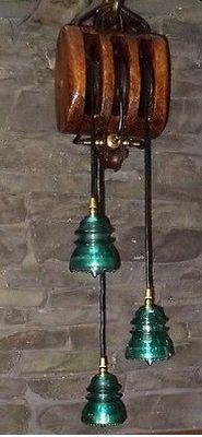 Block and Tackle / Insulator Light