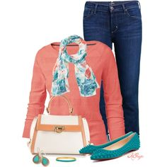 Early Spring Weekend Style, created by kginger on Polyvore