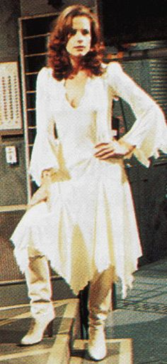Mary Tamm as the first Romana with the shoes visible