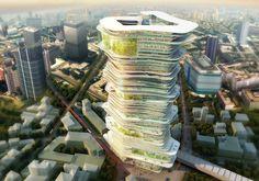 'Endless City Skyscraper' Design Wins London Competition