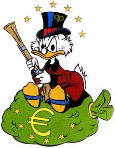 ❌❌❌ Die EU ist bestens bekannt für kostspielige Sonderwege, jetzt auch für extravagante, parlamentarische Belustigungen der degen(D)erierten Art. Nach der Wurst kommt dann auch der Papst zum Zuge, er soll seinen Segen für ein moderndes Sodom und Gomorrha versprühen. Und wenn es in diesem Stil weitergeht, dürfte selbst Dagobert Duck eines Tages im EU-Parlament sein Debüt geben, zur ultimativen Verkündigung der Heilslehre des Mammon. ❌❌❌