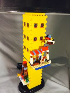 how to make a lego lamp