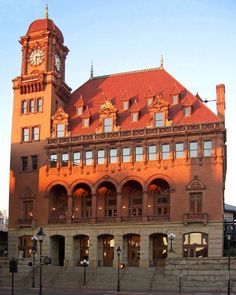 Richmond, Virginia Main Street Train Station... I live right next door!