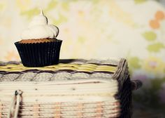 cupcake of the month.7: pumpkin! by Lisa | goodknits, via Flickr