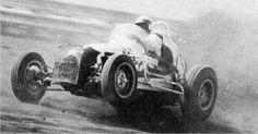 A.J. Foyt 3 wheelin.