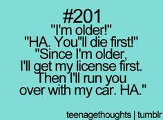 Being older isn't bad