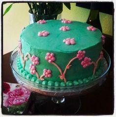 Easter Daisy Cake